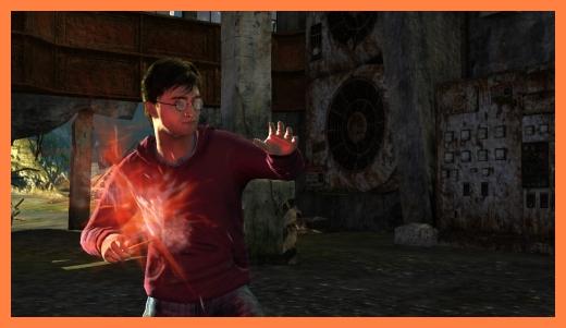 Screenshot, Harry Potter und die Heiligtümer des Todes Teil 1